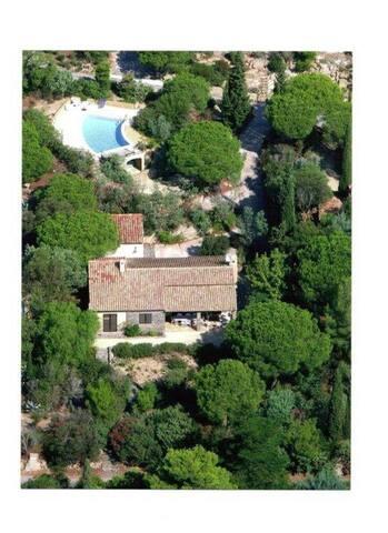Villa avc piscine et vue mer près de St Tropez