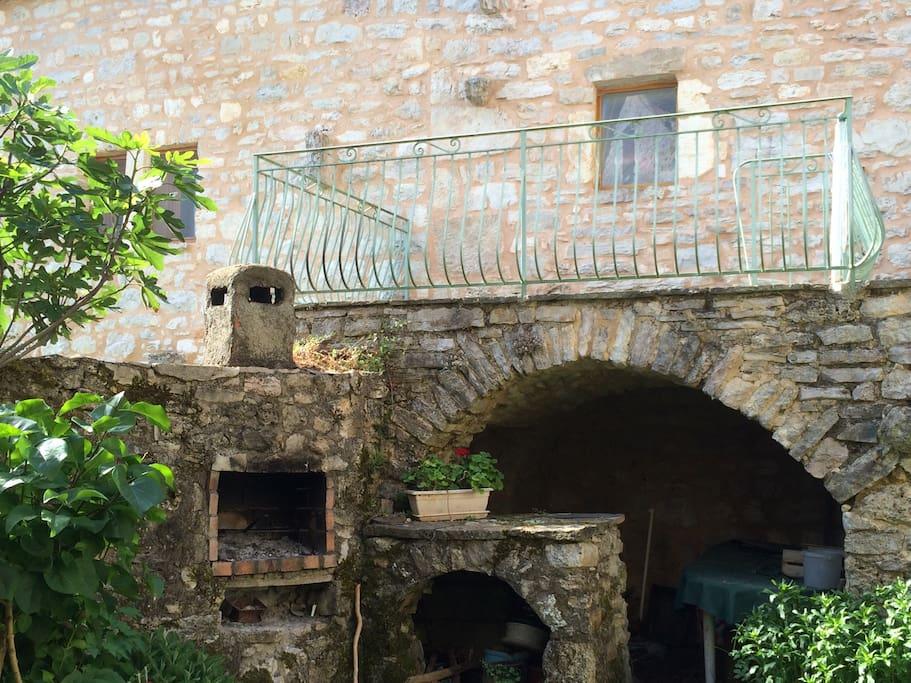 terrasse du duplex