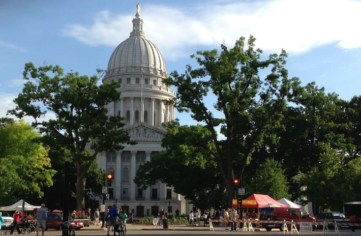 A short drive to Madison