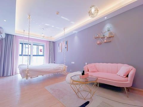 【猫宁】粉色少女的梦,汉阳繁华的王家湾摩尔城、人信汇、大洋百货、家乐福商圈,近王家湾地铁站,交通便利