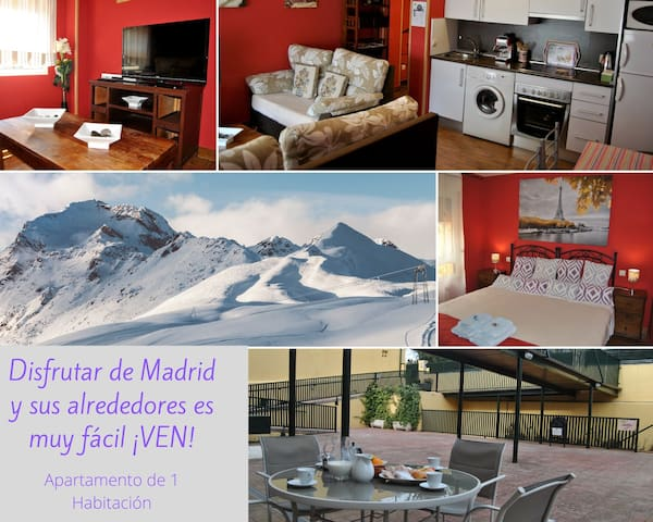 LUXURY RURAL 1 BEDROOM APARTMENT IN MONTAÑA