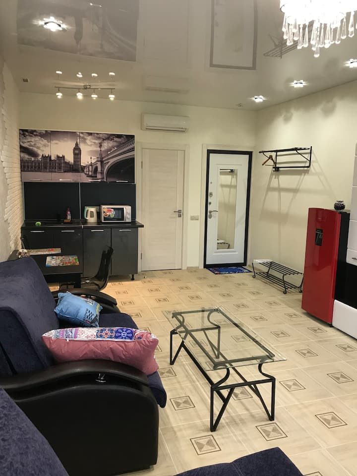 Квартира-студия с балконом в г. Москва