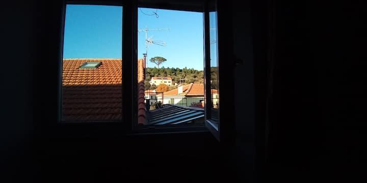 Apartment in Italy Quiliano at Mediterranean Sea