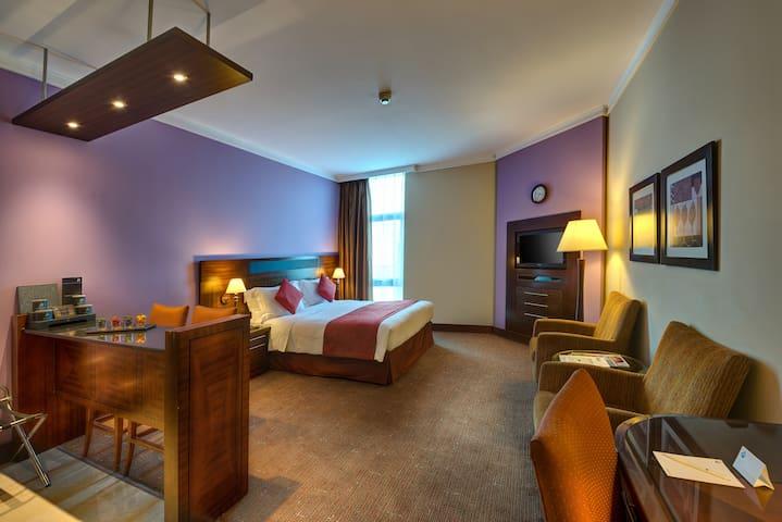 Studio - J5 Rimal Hotel Apartments Al Muraqqabat