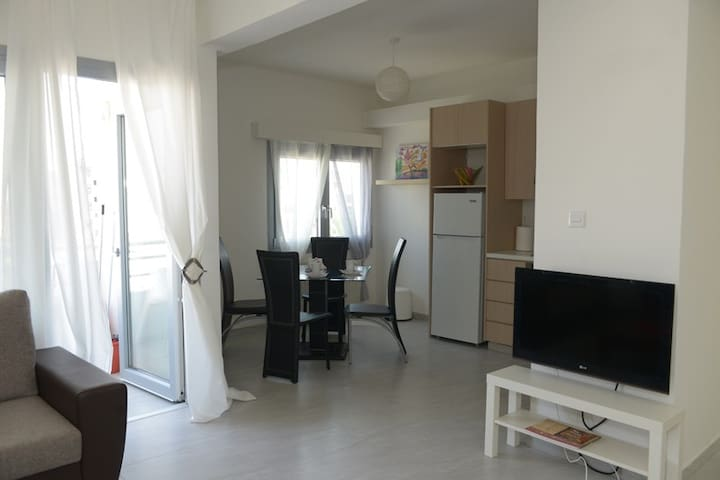 Modern two bedroom apartment in a quiet area