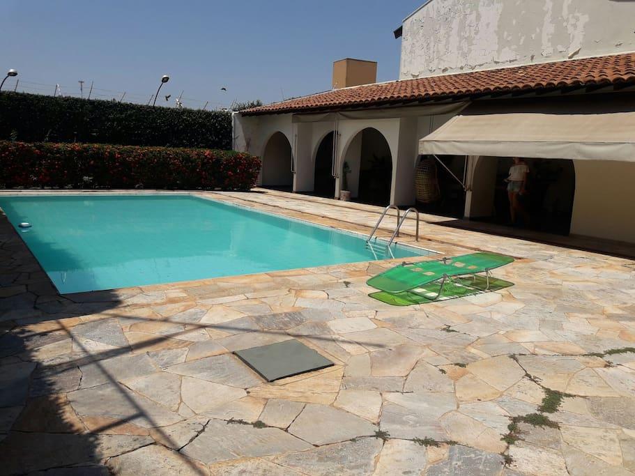 Casa Com Piscina 30 Mim Do Termas De Olimpia Houses For