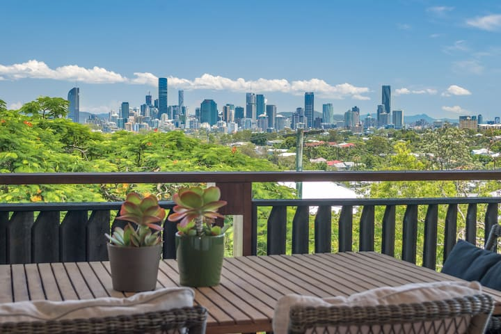 Spectacular City Views☆Norman Park☆Roof Terrace