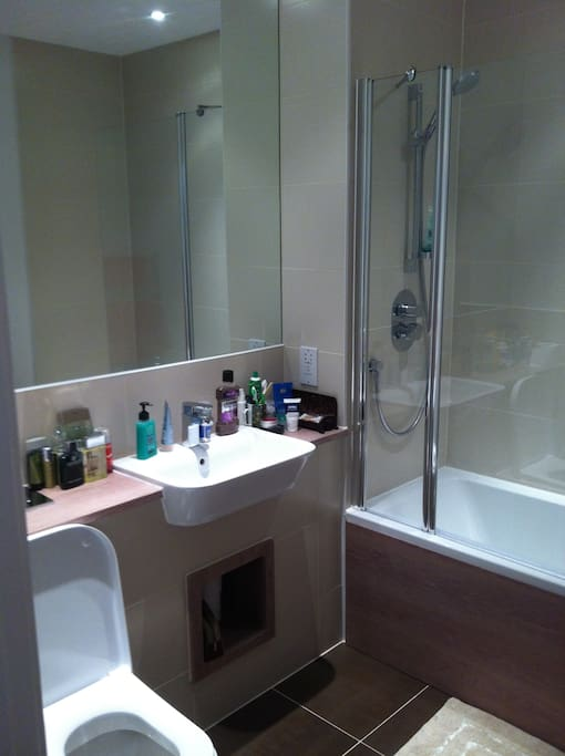 Shower in the En-suite Double Room