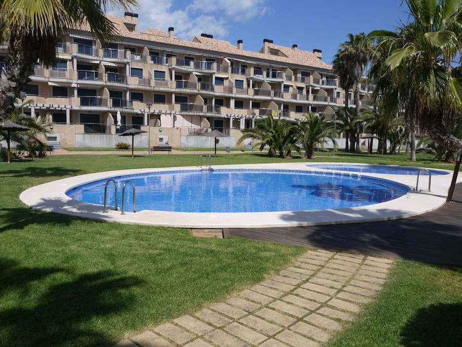 Jardines del real 1c apartments for rent in d nia for Jardines del real
