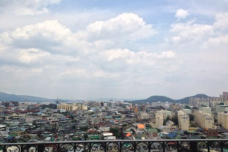 Rooftop style with private terrace - Daegu - Apartment
