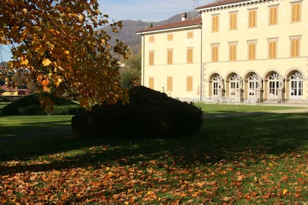 Villa Vitalba-1700s house and winery 1h from Milan - Almenno San Salvatore - 別荘