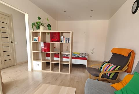 Apartamento en una casa nueva, en el centro