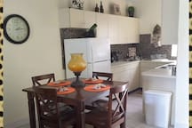 Dining Room/Kitchen Area