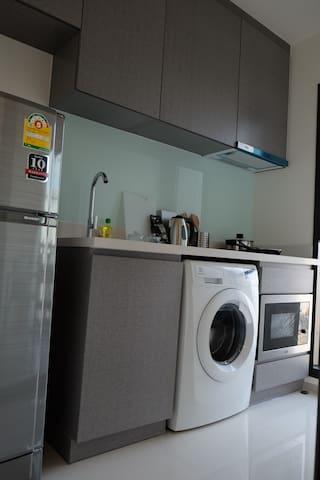Kitchen & washing machine