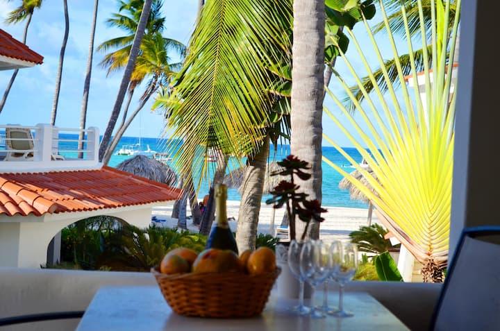 Beachfront Sea View Villa - 6 Guests, WIFI PICK UP