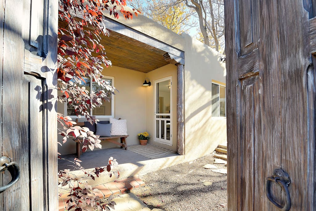 The Casita is gated, secure, and private.  Your sanctuary awaits.