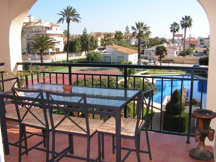 Apartment Golden Park close to the beach in Denia