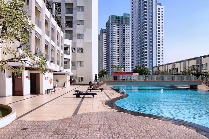 The Most Central Location 2BR Apart in Jakarta - Centralna Dżakarta - Apartament