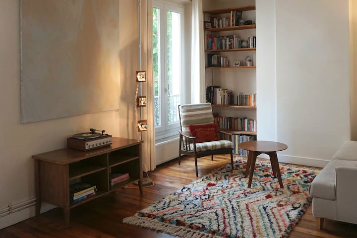 Beautiful Parisian apartment in the heart of Paris - Paris - Apartemen