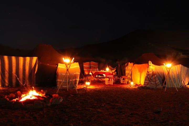 BIVOUAC / HAIMAS en el desierto - Merzouga - Tent