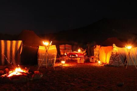 BIVOUAC / HAIMAS en el desierto - Merzouga