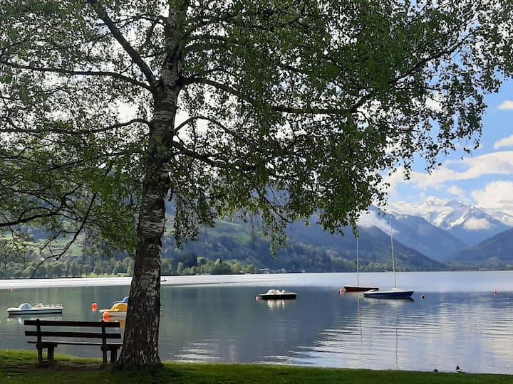 Ferienwohnung Zell am See, 100m vom See (Strand)