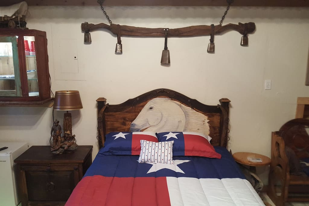 $1500 mattress,hand carved headboard and antique yoke