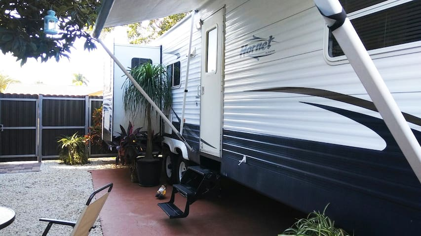 Spacious and Private Fully Loaded RV