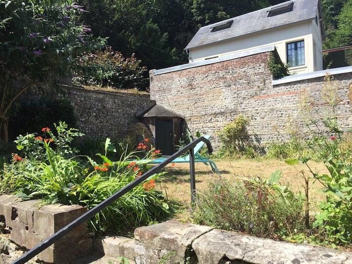 58 faubourg-Apt duplex jardin Dieppe centre-ville