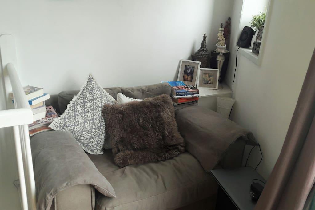 Loveseat in livingroom