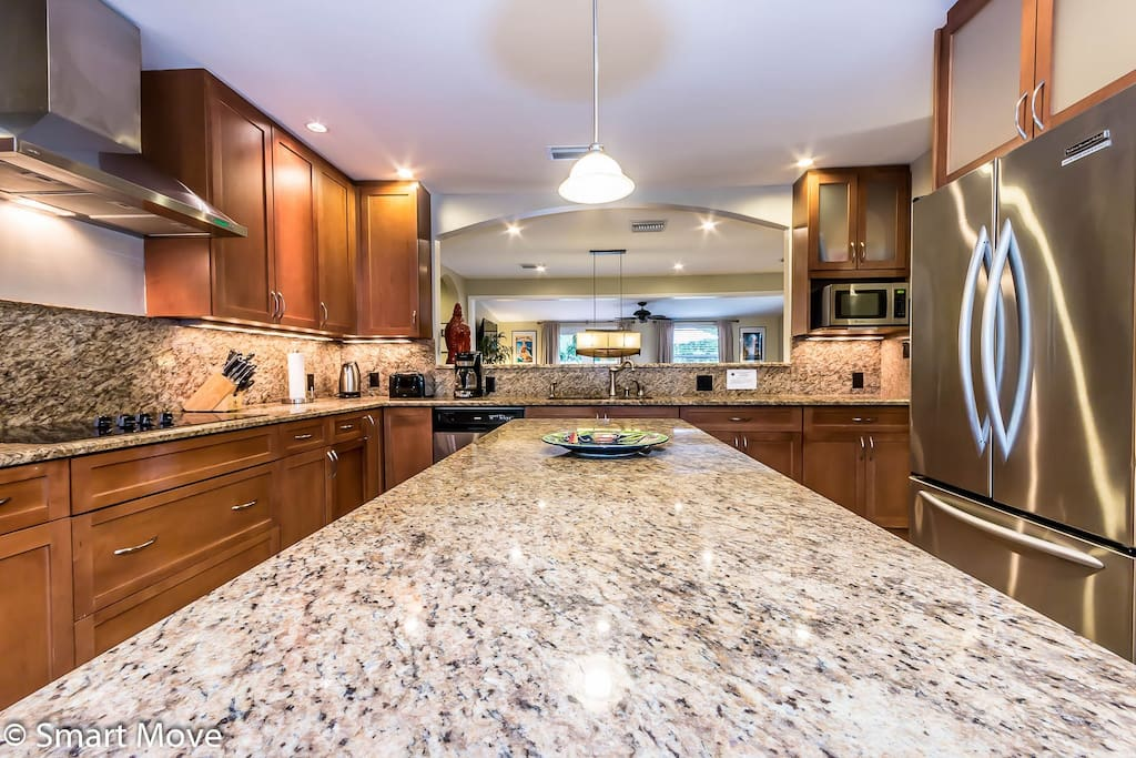 Ideal kitchen for family and friends