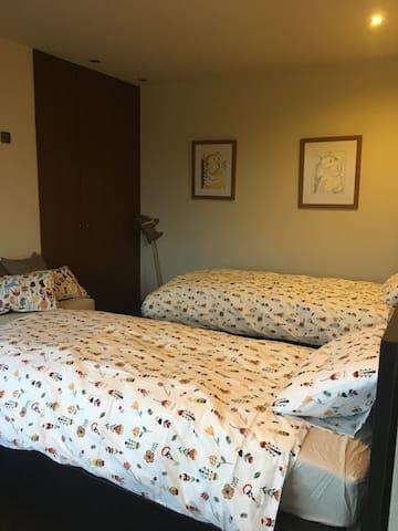 2º Quarto - 2 camas de solteiro