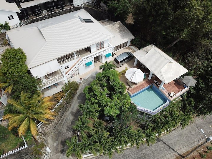 Designed for relaxation, pool, pavilion with views