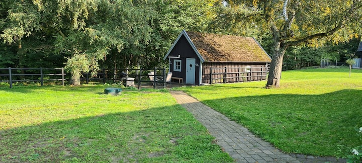 Skogshaga, Boende mitt i idylliskt friluftsområde