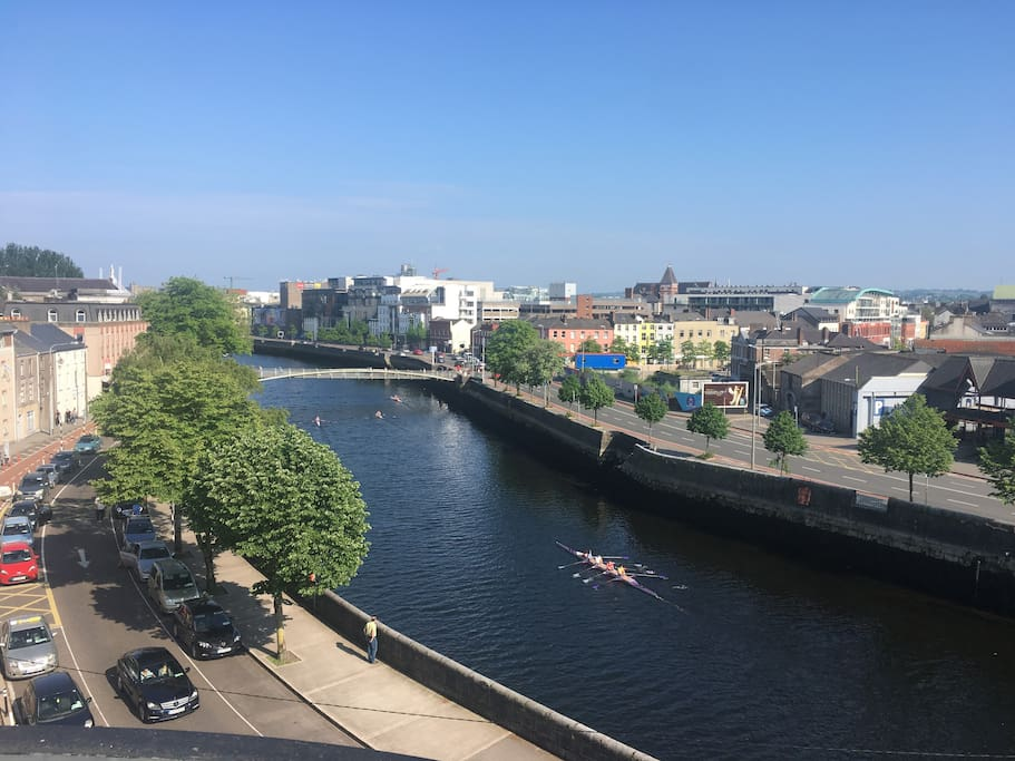 Rowing training on River Lee I