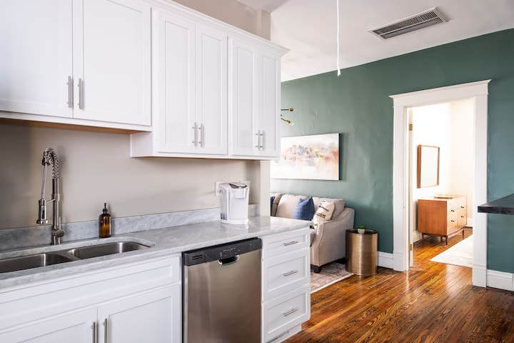 "Newly Renovated ""Loft"" In Vibrant Neighborhood"