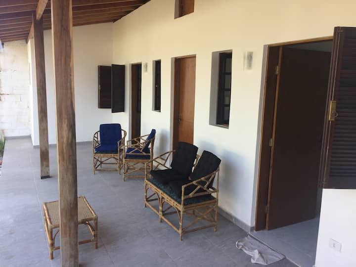 Praia de Pernambuco, casa aconchegante e tranquila