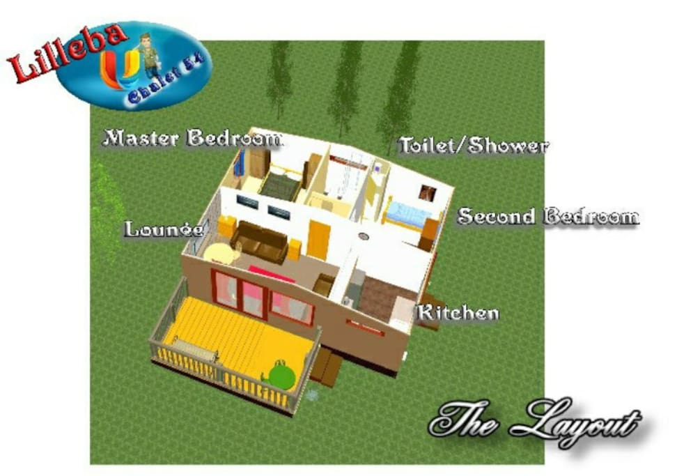 A 3D Internal View of Your Accomodation