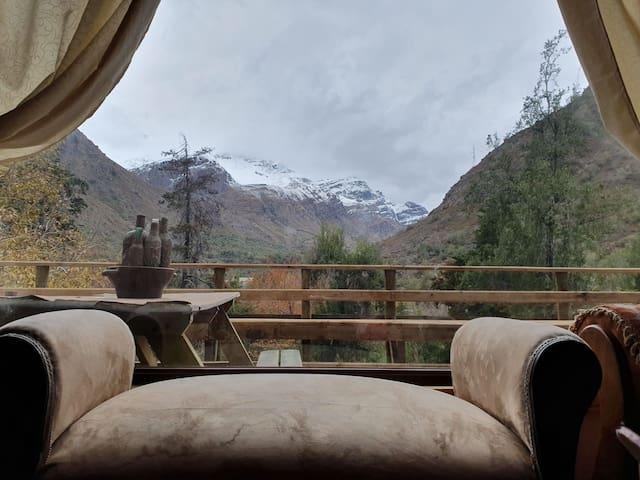 Cabaña en Rio Blanco los Andes, camino a Saladillo