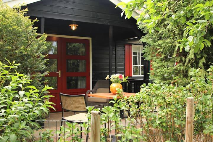 Vrijstaand huisje in historisch Amerongen