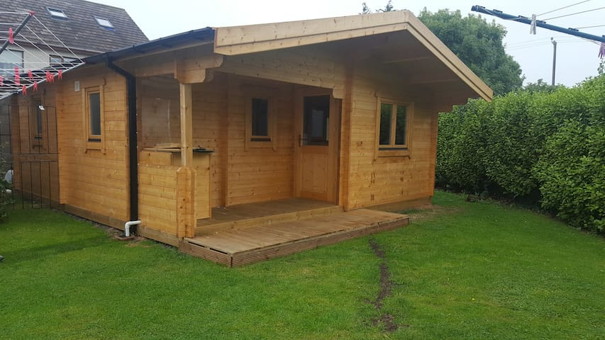Modern cosy  log cabin
