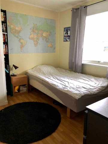 Third bedroom with a 120cm bed
