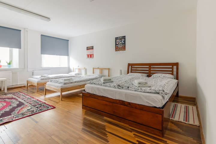 4-5 person family room in a Hostel