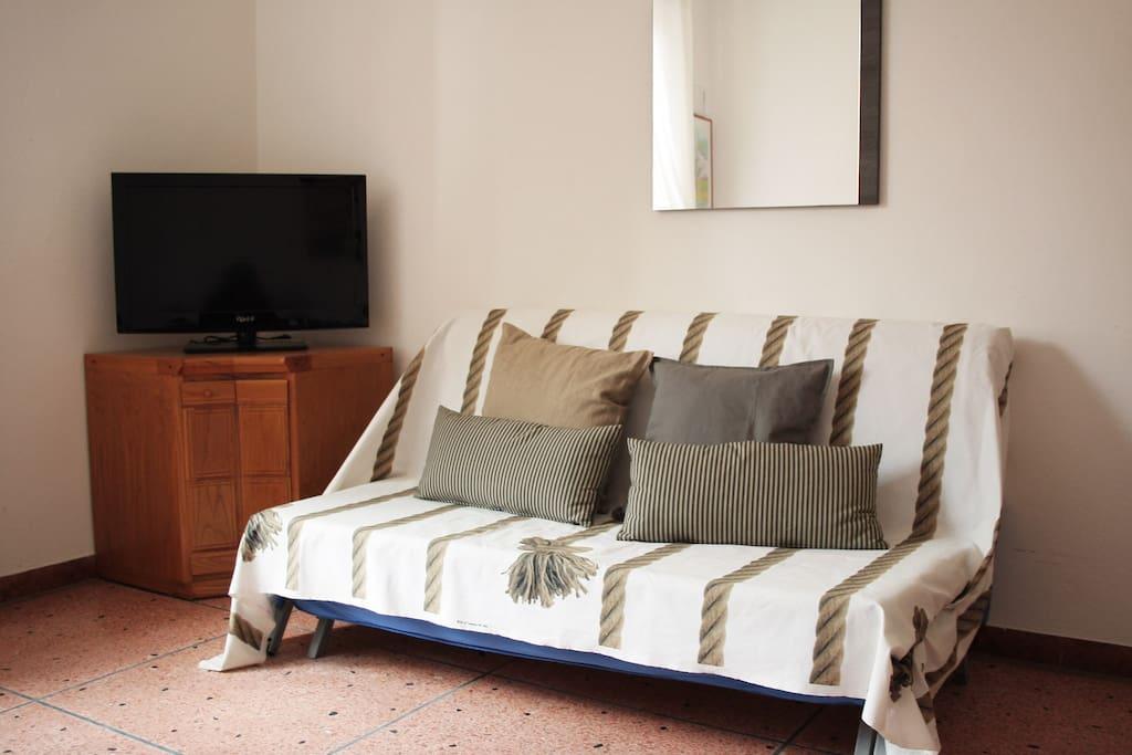 Doppi divani nel soggiorno