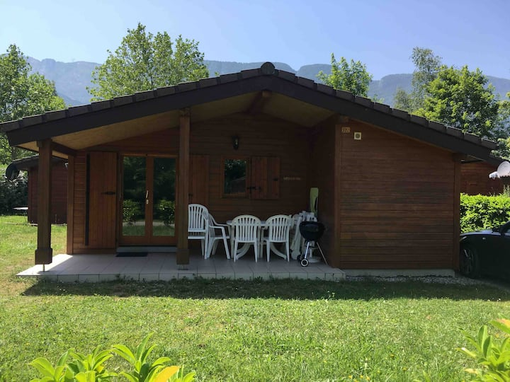 Lakeside Cabin, lac d'Annecy