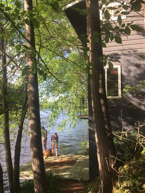 Water's Edge House on Tainter Lake