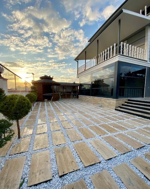 luxury sea view villa in silivri , istanbul