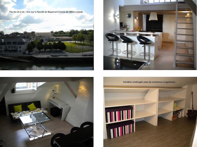 location appartement centre historique bayonne