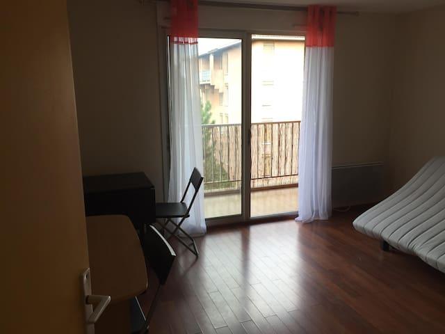 Appartement résidentiel calme quartier Montaudran