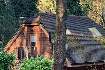 The Barn ,a private delightful studio,in the woods